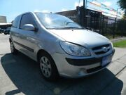 2007 Hyundai Getz TB Upgrade SX Silver 5 Speed Manual Hatchback Williamstown North Hobsons Bay Area Preview