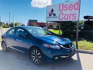 2013 Honda Civic Sdn Touring ONLY 29K *navi *leather *Sunroof