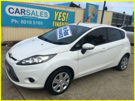 2011 Ford Fiesta WT CL White 6 Speed Automatic Hatchback Kogarah Rockdale Area Preview