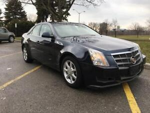 2008 CADILLAC CTS-4 AWD, LOW KM, CERTIFIED
