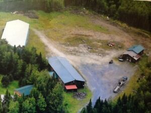 3 Commercial Buildings on 5.7 acres - 15 min from Fredericton