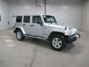 2011 Jeep Wrangler Unlimited Sahara Moose Jaw Regina Area image 1