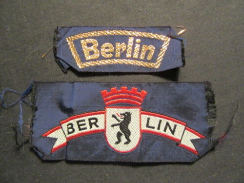 Berlin Scout Patches,  2 Different      c77