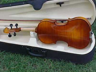 NEW FULL SIZE CELTIC IRISH VIOLIN/FIDDLE-4/4-CASE & BOW INCLUDED on Rummage