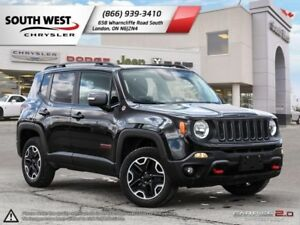 2016 Jeep Renegade | Trailhawk | SkyRoof | Heated Seats & Wheel