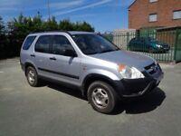 Honda CRV 2003 - 2.0 i-VTEC - Petrol 5 Door - 12 months MOT - Reliable