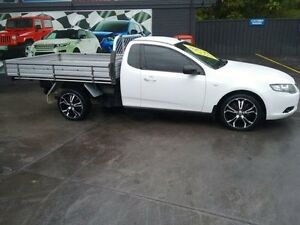 2010 Ford Falcon FG (LPG) White 4 Speed Auto Seq Sportshift Cab Chassis Greenacre Bankstown Area Preview