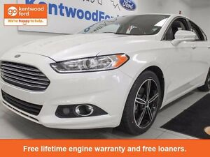 2015 Ford Fusion SE AWD Ecoboost with NAV and leather seats