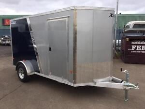 NEW 2018 XPRESS 6' x 12' ALUMINUM ENCLOSED TRAILER