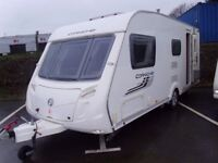 2011 Swift Corniche 17/4 inc a Motor Mover and Awning. 4 Berth Touring Caravan.