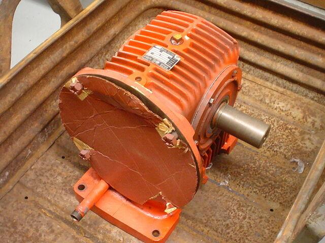 Cone Drive Ex-Cell-O MV 40-W2 2.05HP 1750RPM 62.5-1 2.5 X 55 Gear Reducer
