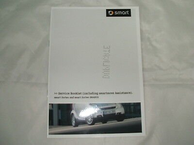 Genuine Smart Fortwo Duplicate Service Book A4515845093 NEW