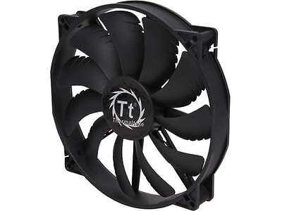 Thermaltake CL-F015-PL20BL-A 200mm Pure Series Quiet High Airflow Case Fan