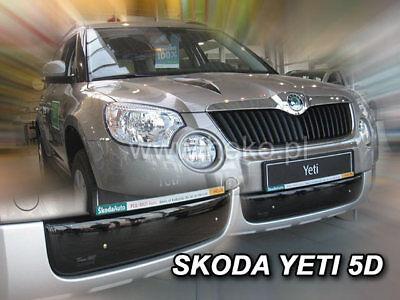 HEKO 02051 Winterblende für Frontgrill Grillblende Skoda Yeti 5tür Bj. 2009-2013 ()