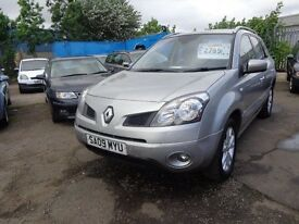 2009 Renault Koleos DYN S 2.0 DCi 4x4 1 Owner From New £2295