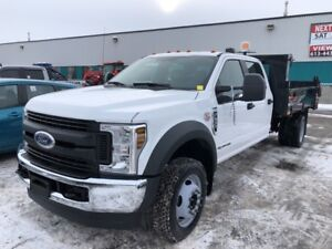 2018 Ford F-550 Crew Cab 4WD Diesel Dump - AVAILABLE TODAY!
