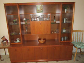 Display Cabinet in Excellent Condition FREE, collection from CW5 Nantwich