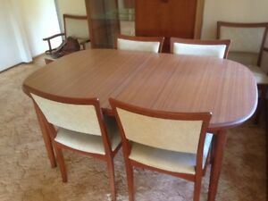 Mid Century Retro Chiswell Dining Suite Port Macquarie Port Macquarie City Preview