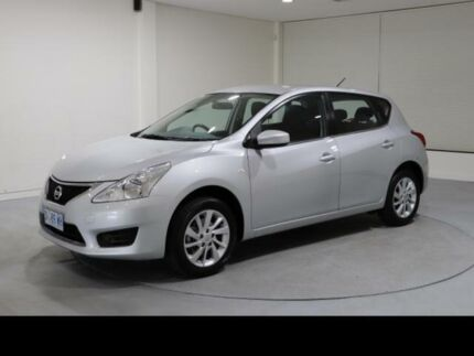 2013 Nissan Pulsar C12 ST-S Silver Continuous Variable Hatchback Invermay Launceston Area Preview