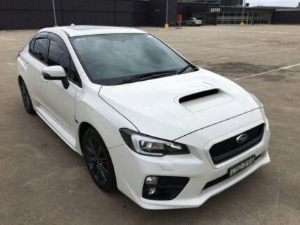 2015 Subaru WRX MY15 Premium White Constant Variable Sedan