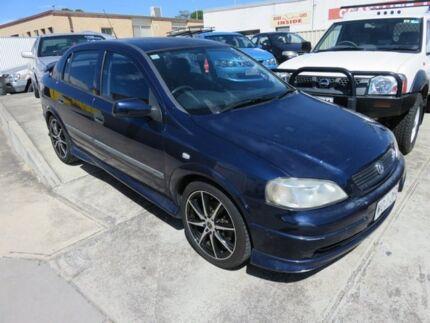 2001 Holden Astra CD Blue 5 Speed Manual Sedan