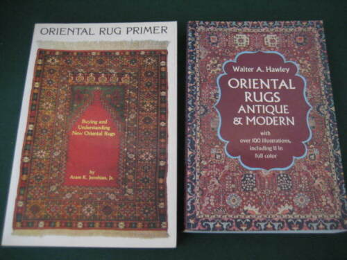 Two Volumes on Oriental Rugs–Oriental Rug Primer&OrientalRugs Antique and Modern