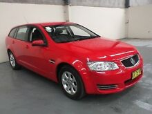 2013 Holden Commodore VE II MY12.5 Omega Red 6 Speed Automatic Sportswagon Gateshead Lake Macquarie Area Preview