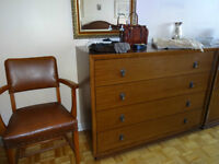 Dressers, Night Tables and Double Bed with Frame