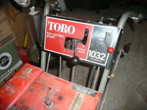 """Reduced- Toro 10hp-32"""" wide Snowblower for sale."""