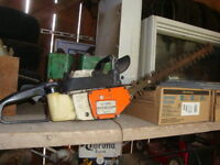 Stihl hedge trimmer project