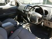 2014 Toyota Hilux KUN26R MY14 SR White 5 Speed Manual Cab Chassis Robina Gold Coast South Preview