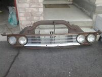 1967 Chevelle Rad Saddle and other 67 Parts