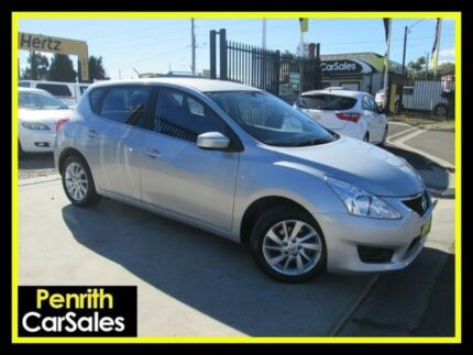 2014 Nissan Pulsar C12 ST Silver Continuous Variable Hatchback