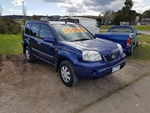 2002 Nissan X-Trail T30 ST (4x4) Blue 4 Speed Automatic Wagon Officer Cardinia Area Preview