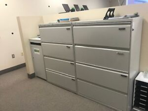 Filing Cabinets and 2 x Printers for Sale