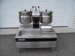 Soupière, kettle, marmitte à vapeur double Garland MLK-36 - Steam kettle