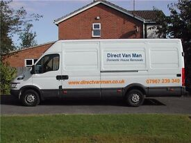 Low Cost House/Flat Removals with Man and Van hire Leicestershire Single Items From £20