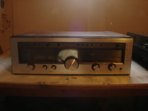 LUXMAN RECEIVER WITH TURN TABLE