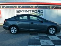 2013 Honda Civic LX $59.90 Per Week*