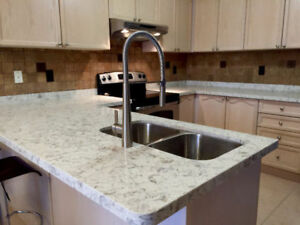 QUARTZ, GRANITE COUNTERTOPS ON SALES!FREE SINK!!!