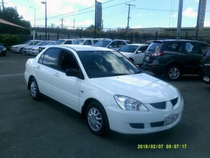 2005 Mitsubishi Lancer CH MY06 ES White 4 Speed Auto Sports Mode Sedan Coopers Plains Brisbane South West Preview