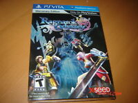 RAGNAROK ODYSSEY MERCENARY EDITION PS VITA NEUF SEALED