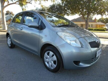 2008 Toyota Yaris NCP90R YR Grey 4 Speed Automatic Hatchback Nailsworth Prospect Area Preview