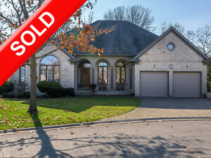 SOLD: Executive Ranch with Sundeck, Ravine Lot & Natural Light! London Ontario image 1