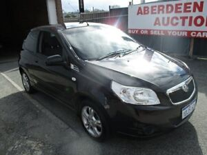 2010 Holden Barina TK MY10 Black 5 Speed Manual Hatchback West Perth Perth City Area Preview