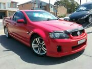 2009 Holden Ute VE MY10 SV6 Red 6 Speed Sports Automatic Utility Greenacre Bankstown Area Preview