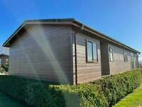 Heritage lodge 50ft x 20ft 2 bedroom incredible twin lodge FOR SALE OFF SITE
