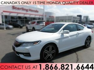 2017 Honda Accord TOURING   COUPE   1 OWNER   NO ACCIDENTS