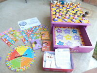 Dora Games Set in Wooden Storage Box