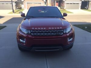 2015 Land Rover Range Rover Evoque Pure Plus SUV, first owner